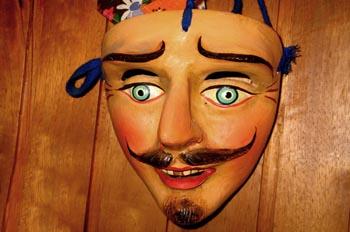 """""""Máscara peruana de carnaval, Perú"""""""