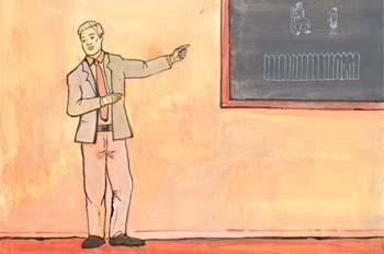 """Primera experiencia estética: Profesor"""