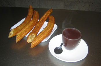 """Chocolate con churros"""