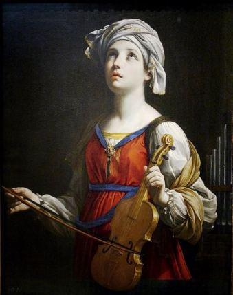 Santa Cecilia, por Guido Reni, 1606