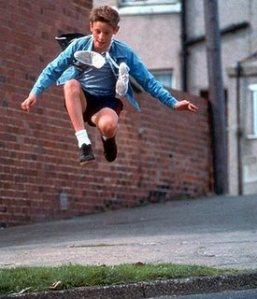 Billy saltando