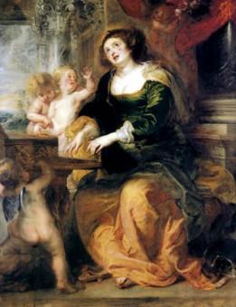 Santa Cecilia, Rubens, 1639