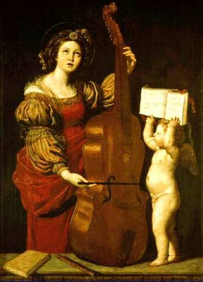 Santa Cecilia, Domenichino, 1617