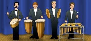 Cuarteto de percusión
