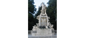 Estatua de Mozart, Viena.