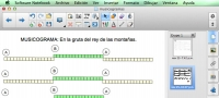 Musicogramas para pizarra digital con Notebook 11 (tutoriales)