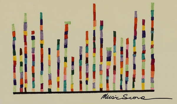 Music Score, de Reavel