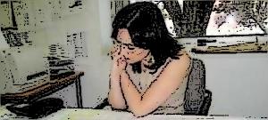 """M. Olite revisando el Planing del """"Encuentro de música y Academia"""" en Santander, Julio de 2007"""