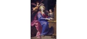 Santa Cecilia de Roma, s. XVII, Matteo Rosselli.