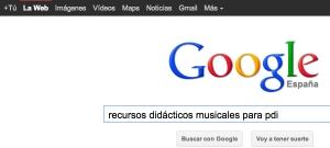 Recursos didácticos musicales para PDI
