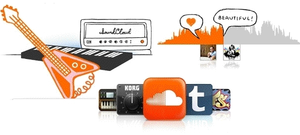 Captura de pantalla de SoundCloud