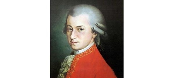 Wolfgang Amadeus Mozart, posthumous portrait by Krafft, 1819
