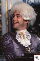 Mozart soriendo