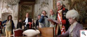 Mozart con el Emperador José II
