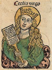 Santa Cecilia, s.XV, Nuremberg