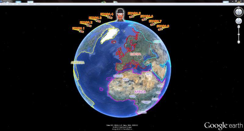 EARTHQUEST: Una manera de trabajar las Webquest desde Google Earth