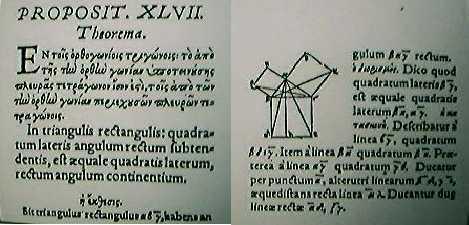 Prop I.47 de la edición de 1566 de los Elementos