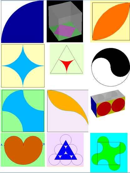 Calculo De Figuras Geometricas