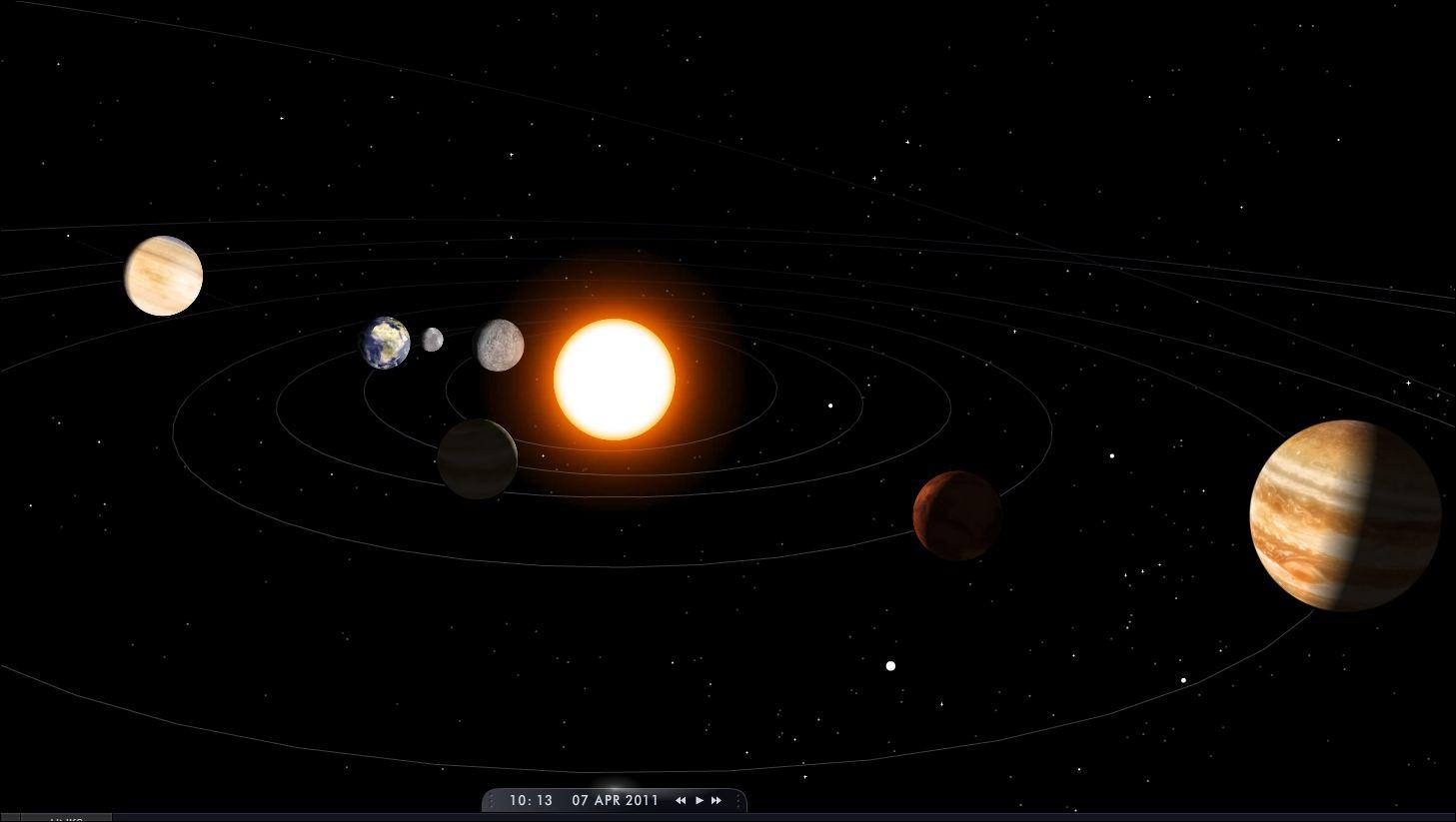 Fondos De Pantalla Sistema Solar HD 1080p