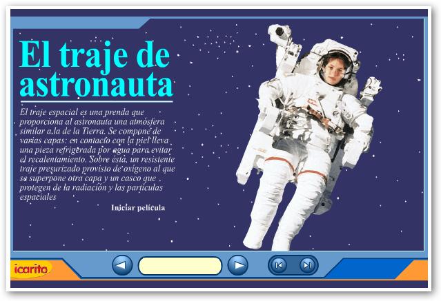 El traje de astronauta | rTIC para Ceuta y Melilla