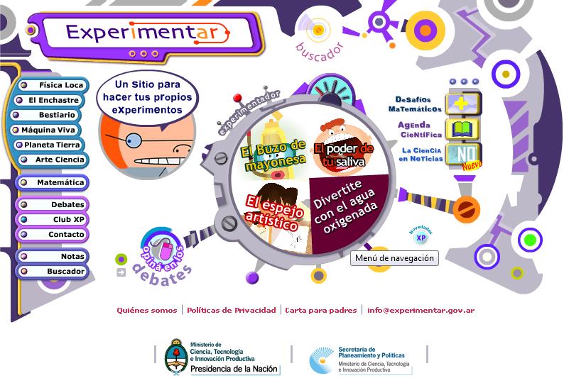 Web experimentar