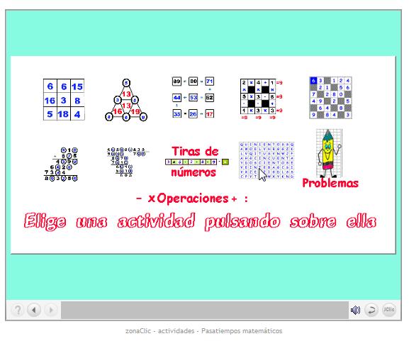 Pasatiempos matemáticos | rTIC para Ceuta y Melilla
