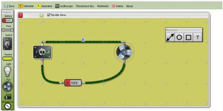 Simulación de un circuito