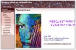 Página de inicio de la webquest