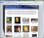 Portada de acceso al museo virtual