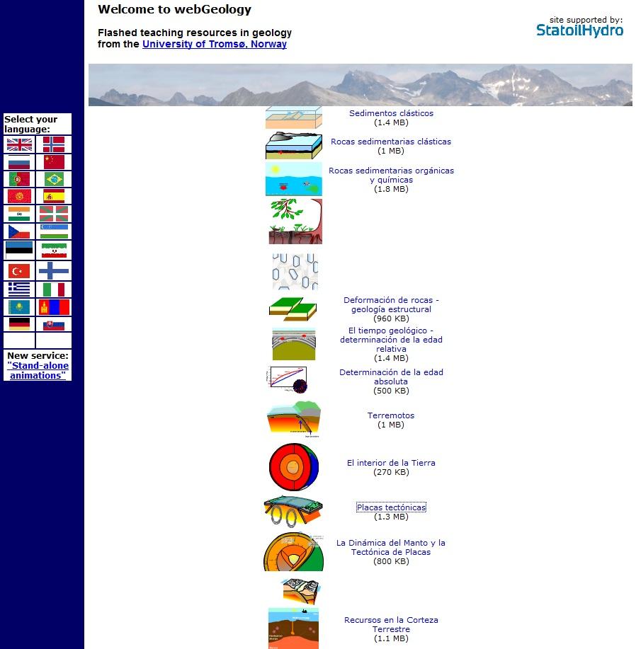 WebGeology