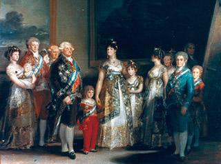 La Familia De Carlos Iv Por Francisco De Goya