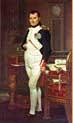 Napoleón en su estudio (1812), Jacques-Louis David. National Gallery of Art