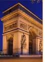 Arco del Triunfo, en la Plaza Charles de Gaulle (París)