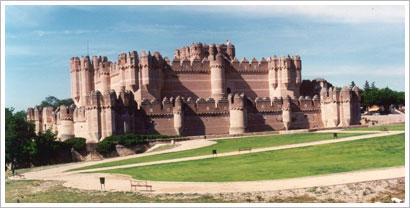 Castillo de Coca (Segovia, siglo XV). María J. Fuente (col. particular, 1997)