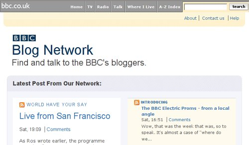 Blogs de la BBC