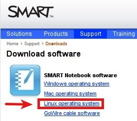 Descarga del software Smart para Linux
