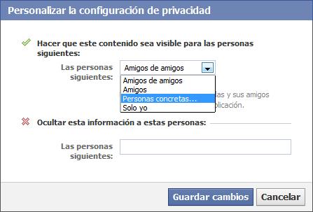 Configurar privacidad mis fotos nuevo facebook 82
