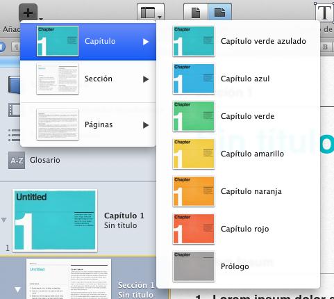 MONOGRÁFICO: Manual de iBooks Author - Principales