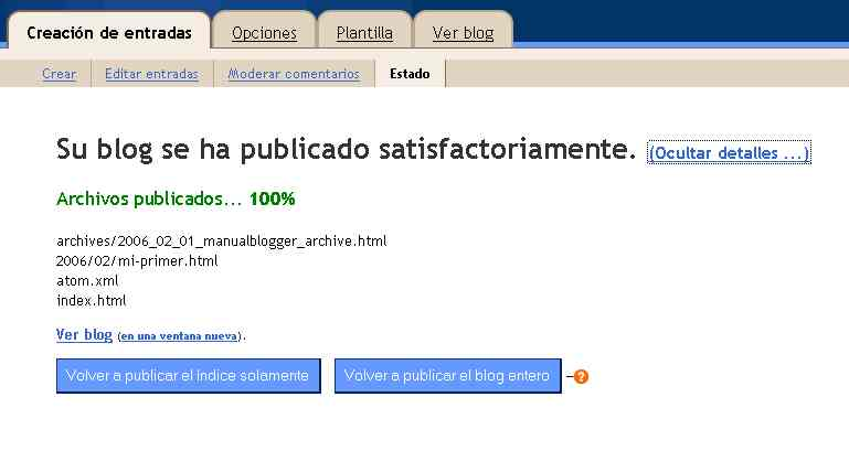 MONOGRÁFICO: Wikis y Blogs en la Educación - Manual de Blogger ...