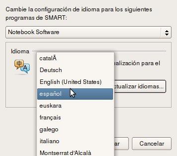 Configurar idiomas