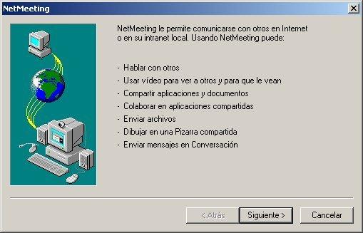 directorio netmeeting: