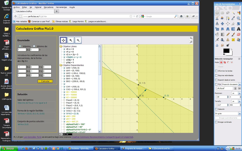 MONOGRÁFICO: Una calculadora gráfica para la enseñanza de las ...