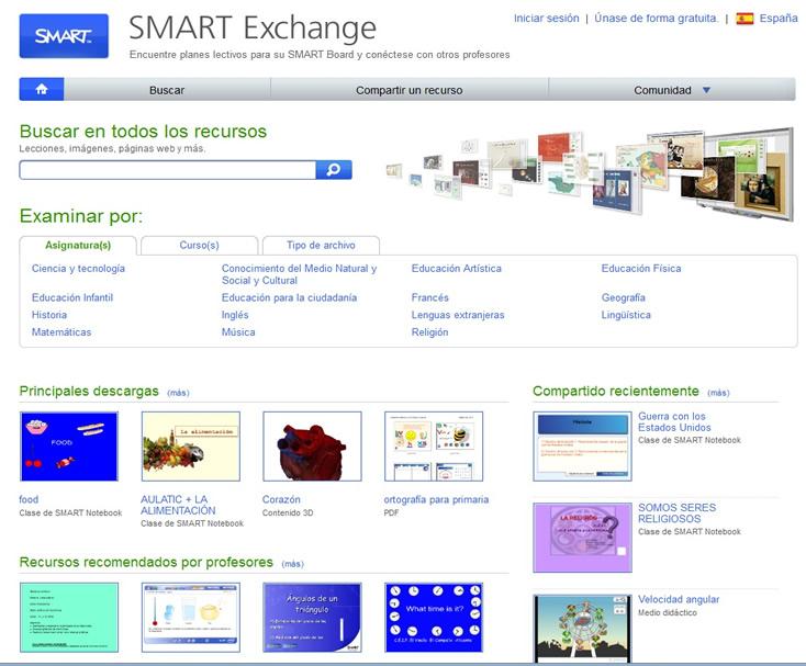 Portal de recursos Smart Exchange