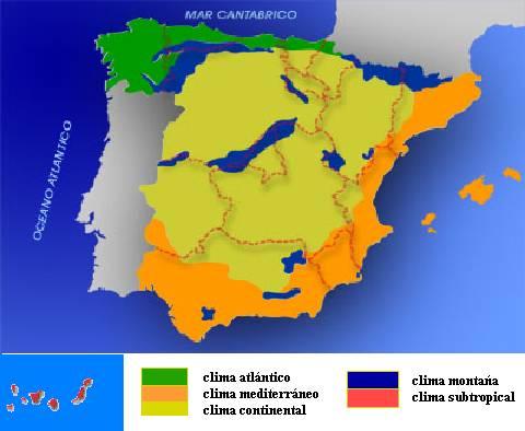 Documento sin t tulo for Clima mediterraneo de interior