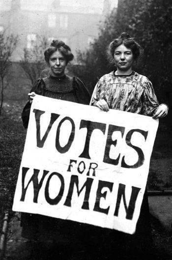 Resultado de imagen de primera ola revolucionaria mujer