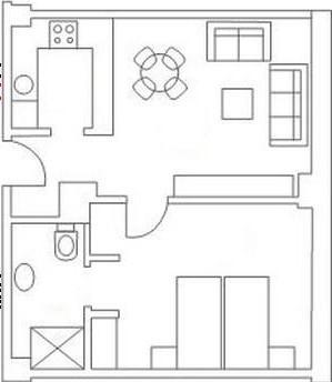 Plano de alumbrado for Puntos de luz vivienda