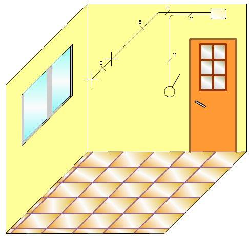 2 un punto de luz o dos en paralelo curso electricidad for Puntos de luz vivienda